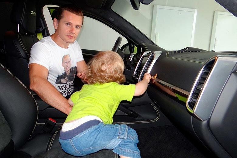 Александр Винник и сын